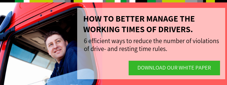 Reduce violations on driving times